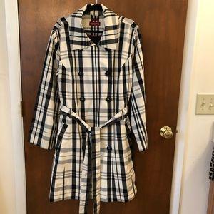 Merona plaid coat
